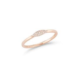 Thin Diamond Ring