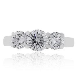Platinum with 1.05ct Diamond Engagement Ring Size 7