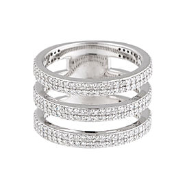 Jordan Scott Design Triple Dia Band Ring Wg Ring