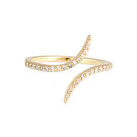 Jordan Scott Design Thin Dia Bypass Ring
