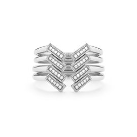 Open Bar Ring Stack