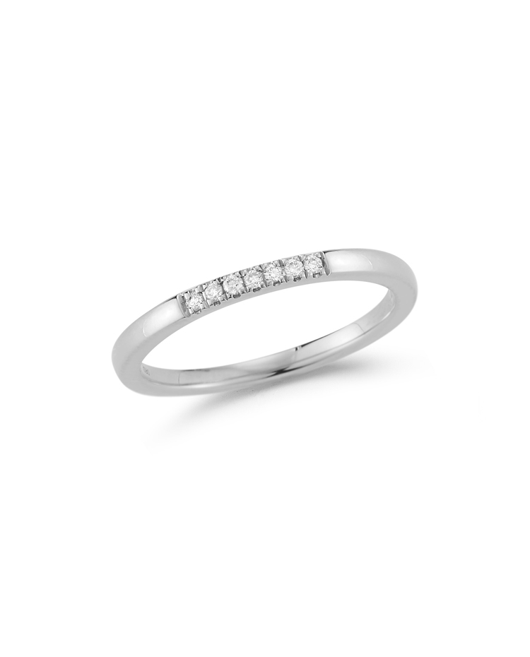"Image of ""Dainty Diamond Row Ring"""