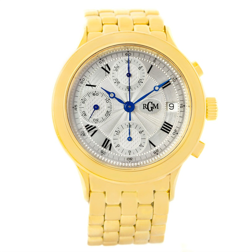 "Image of ""RGM 101 18K Yellow Gold Automatic 38mm Mens Watch"""
