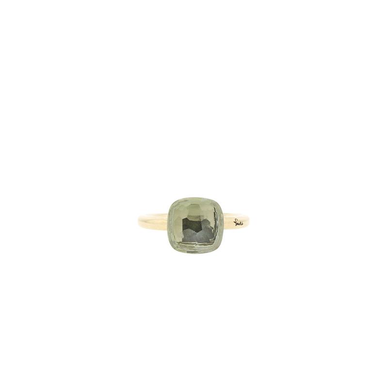 """Image of """"18k Rose Gold Pomellato Nudo Praisolite Ring Grande"""""""