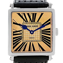 Roger Dubuis Golden Square 05/28 18K White Gold 43mm Mens Watch