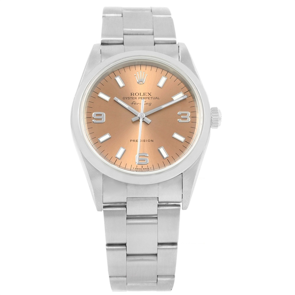 """Image of """"Rolex Air King 14000 Stainless Steel Automatic 34mm Unisex Watch"""""""