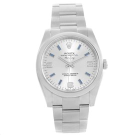 Rolex Air King 114200 Stainless Steel Automatic 34mm Unisex Watch