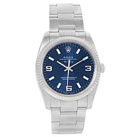 Rolex Air King 114234 Stainless Steel & Blue Dial 34mm Mens Watch