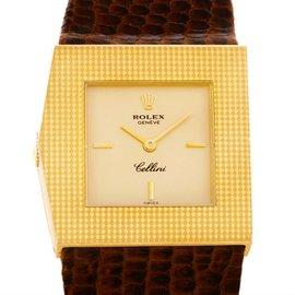 Rolex Cellini King Midas 4126 18K Yellow Gold Vintage 27.5mm Mens Watch