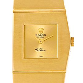 Vintage Rolex Cellini Midas 9768 18K Yellow Gold Right Handed 23mm Womens Watch