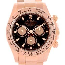 Rolex Daytona 116505 18K Rose Gold Chronograph 40mm Mens Watch
