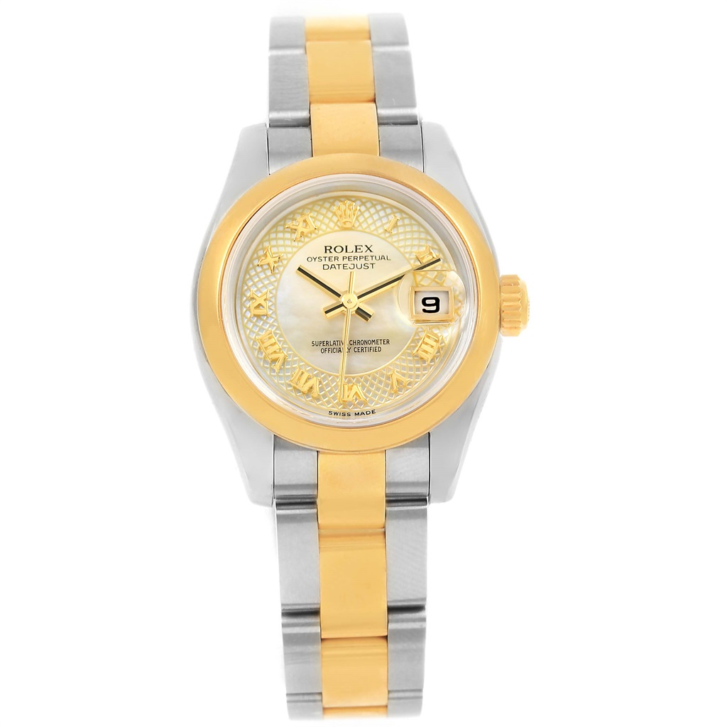 "Image of ""Rolex Datejust 179163 Stainless Steel/18K Yellow Gold Champagne Dial"""