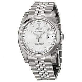 Rolex Datejust 116200SSJ Stainless Steel & Silver Index Dial 36mm Mens Watch