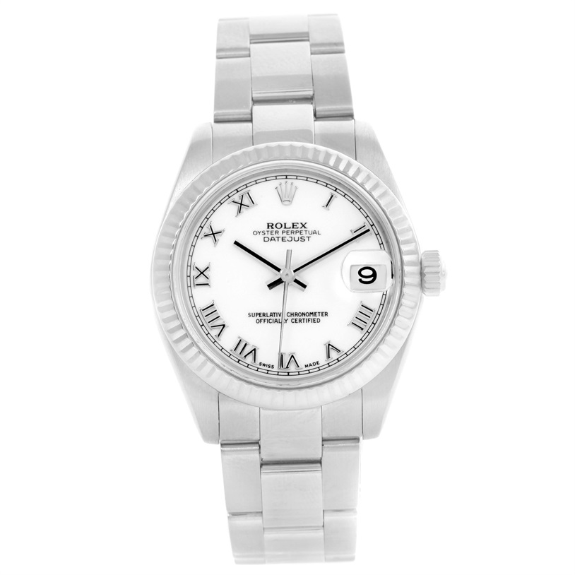 "Image of ""Rolex Datejust 178274 Stainless Steel / 18K White Gold Automatic 31mm"""
