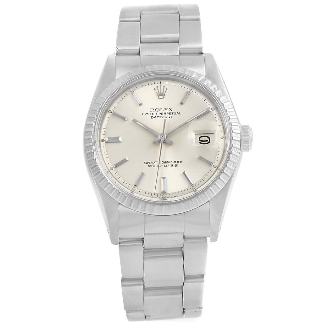 """Image of """"Rolex Datejust 1603 Stainless Steel Silver Sigma Dial Automatic"""""""