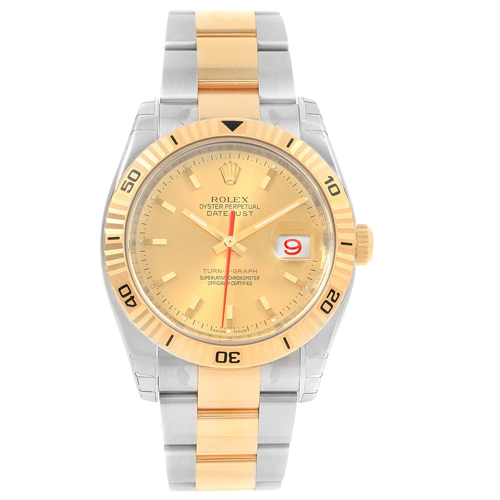 "Image of ""Rolex Datejust 116263 Stainless Steel and 18K Yellow Gold Automatic"""