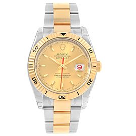 Rolex Datejust 116263 Stainless Steel and 18K Yellow Gold Automatic 36mm Mens Watch