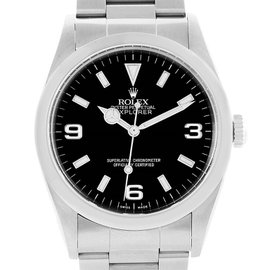 Rolex Explorer I 114270 Stainless Steel Black Dial 36mm Mens Watch