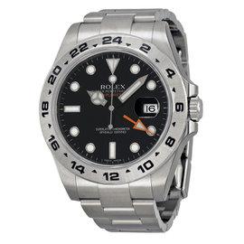 Rolex Explorer II 216570 Black Dial Stainless Steel Mens Watch