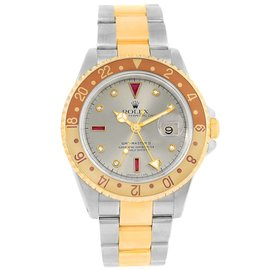 Rolex GMT Master II 16713 Stainless Steel/18K Yellow Gold Automatic 40mm Mens Watch