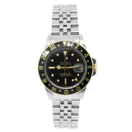 Rolex GMT Master 1675 Stainless Steel 40mm Mens Watch