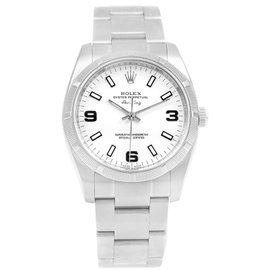 Rolex Oyster Perpetual Air King 114210 Stainless Steel Automatic 34.0mm Mens Watch