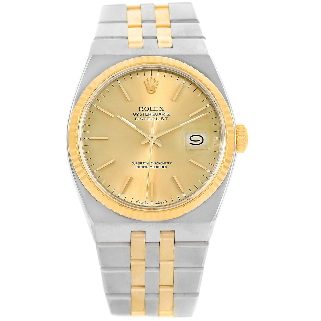 """Image of """"Rolex Datejust 17013 Stainless Steel & 18K Yellow Gold Champagne Dial"""""""