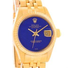Rolex President Datejust 6917 18K Yellow Gold Vintage 26mm Womens Watch