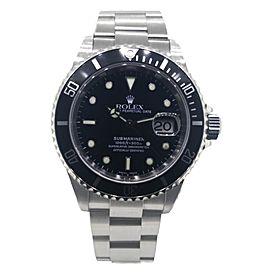 Rolex Submariner 16610 Black Dial Stainless Steel Watch