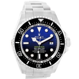 Rolex Seadweller 116660 Stainless Steel Blue Dial Automatic 44mm Mens Watch