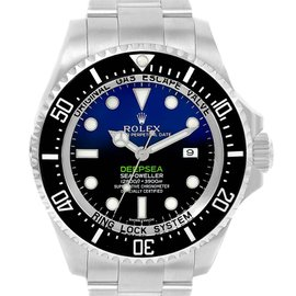 Rolex Sea Dweller Deepsea 116660 Stainless Steel Automatic 44mm Mens Watch