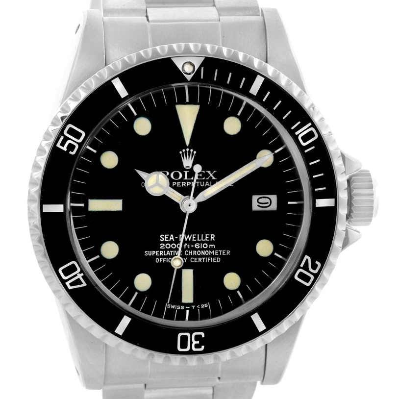 "Image of ""Rolex Seadweller Stainless Steel Vintage 40mm Mens Watch"""