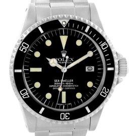 Rolex Seadweller Stainless Steel Vintage 40mm Mens Watch