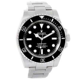 Rolex Submariner 114060 Stainless Steel & Ceramic Bezel Automatic 40mm Mens Watch