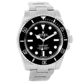 Rolex Submariner 114060 Stainless Steel & Black Dial 40mm Mens Watch