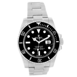 Rolex Submariner 116610 Stainless Steel/Ceramic Black Dial Automatic 40mm Mens Watch