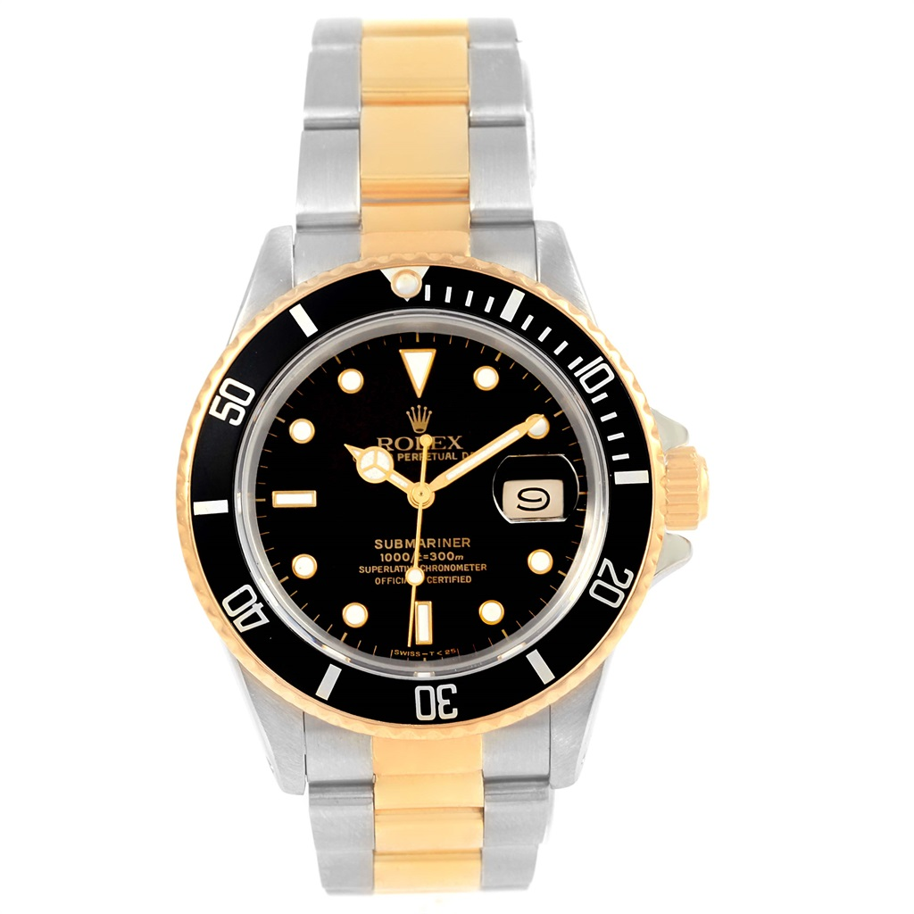 """Image of """"Rolex Submariner 16803 Stainless Steel and 18K Yellow Gold Black Dial"""""""