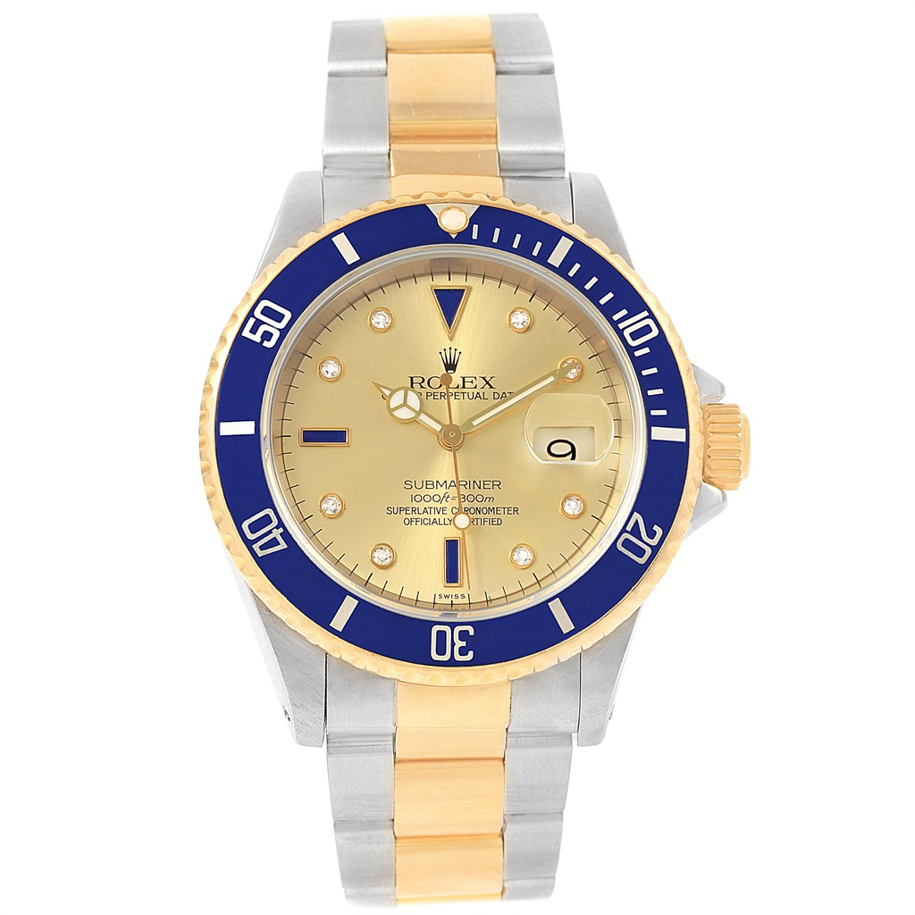 """Image of """"Rolex Submariner 16613 Stainless Steel & 18K Yellow Gold Gold"""""""