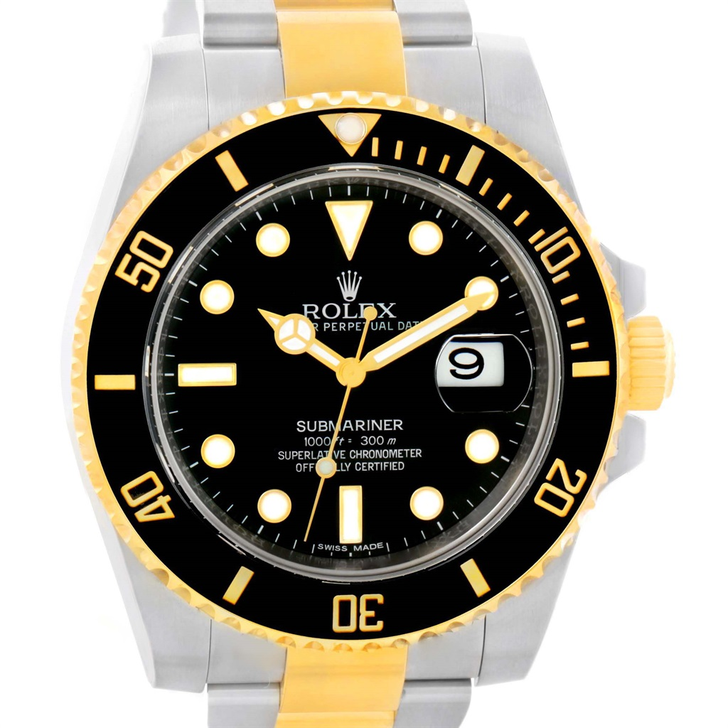 """Image of """"Rolex Submariner 116613 Stainless Steel And 18K Yellow Gold Automatic"""""""
