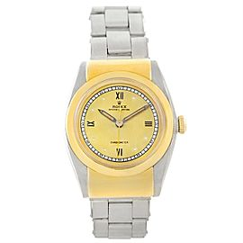 Rolex Bubbleback 3065 Stainless Steel and 18K Yellow Gold Vintage 32mm Mens Watch