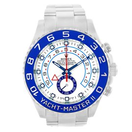 Rolex Yachtmaster II 116680 Stainless Steel Automatic 44mm Mens Watch