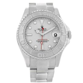 Rolex Yachtmaster 168622 Stainless Steel & Platinum Automatic 35mm Unisex Watch