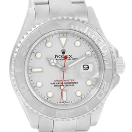 Rolex Yachtmaster 16622 Stainless Steel Platinum Automatic 40mm Mens Watch