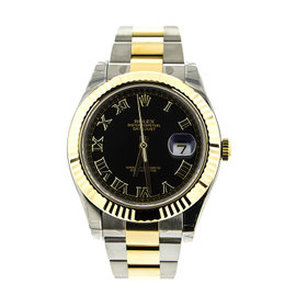Rolex 116333 DateJust II 41mm Yellow Gold & Stainless Steel Watch