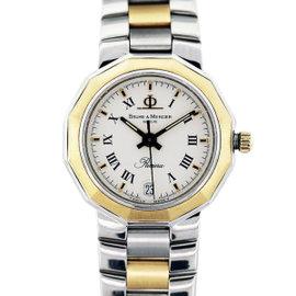 Baume & Mercier Riviera Two Tone Womens Watch