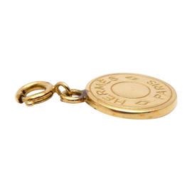 Hermes Goldtone Bijouterie Pendant