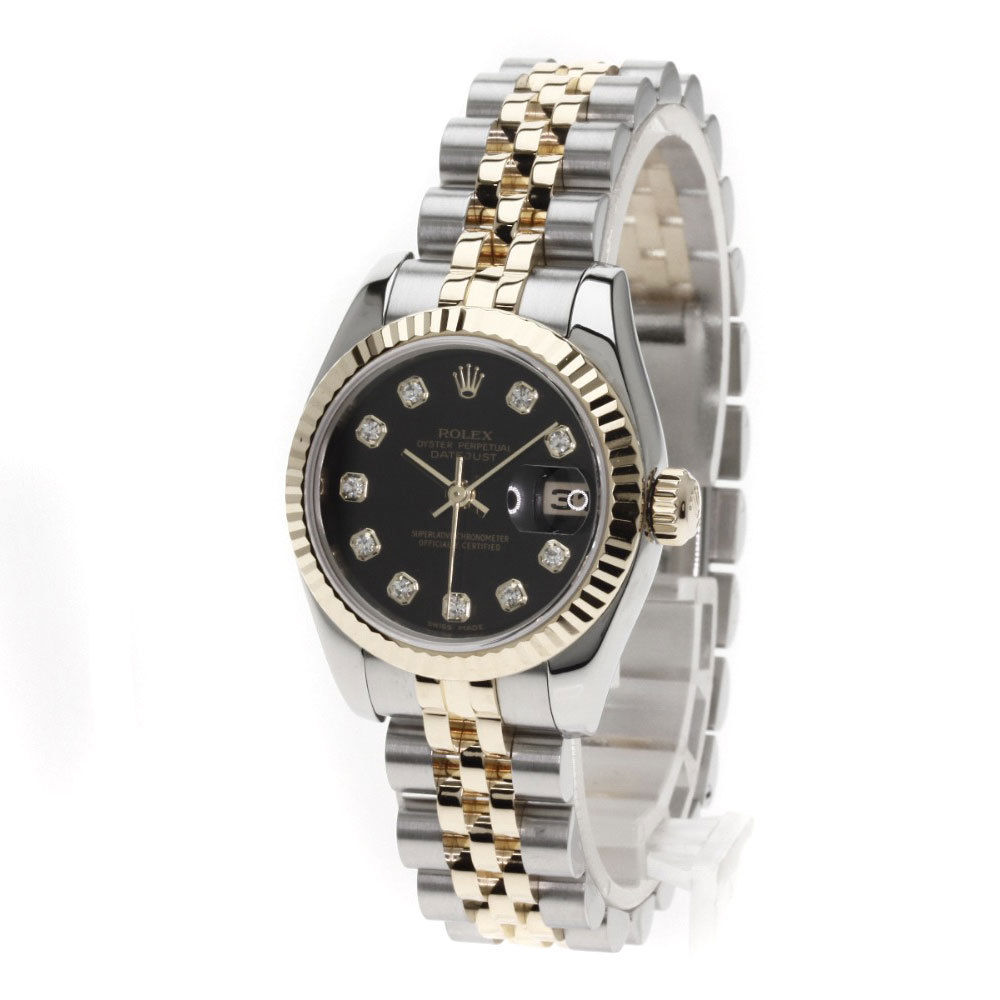 """Image of """"Rolex Datejust 179173G Stainless Steel and 18K Yellow Gold 10P"""""""