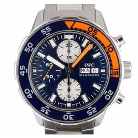 IWC Aquatimer IW3767 Stainless Steel 44mm Mens Watch