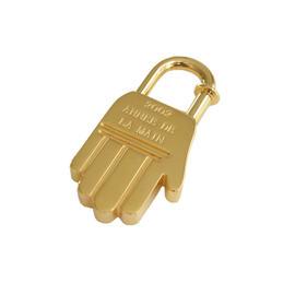Hermes Cadena Charm Pendant Goldtone