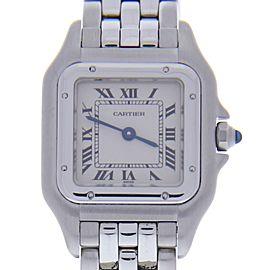 Cartier Panthere 1320 Stainless Steel Quartz 22mm Womens Watch